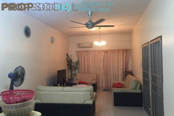 Terrace For Sale in Taman Rainbow, Jalan Ipoh Freehold Semi Furnished 6R/4B 1.1m