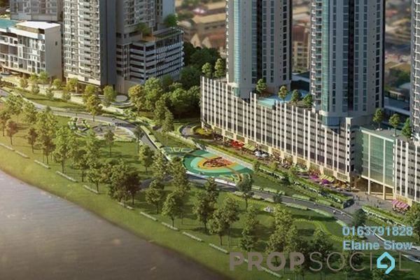 Condominium For Sale in Tria Residences @ 9 Seputeh, Old Klang Road Leasehold Semi Furnished 2R/2B 620k