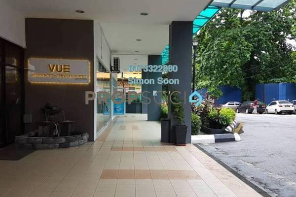 Serviced Residence For Rent in Vue Residences, Titiwangsa Freehold Fully Furnished 2R/1B 2.28k