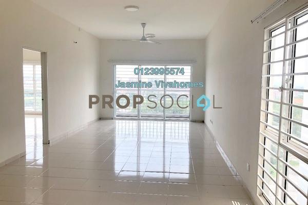 Condominium For Rent in The iResidence, Bandar Mahkota Cheras Freehold Unfurnished 3R/2B 1.2k