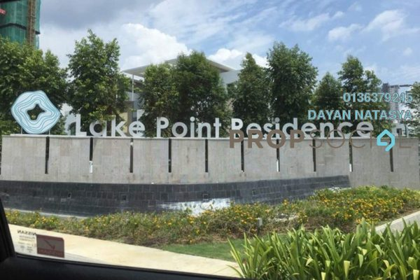 For Sale Superlink at Lake Point Residence, Cyberjaya Freehold Semi Furnished 6R/5B 1.1m