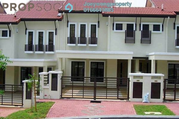 Terrace For Rent in BK9, Bandar Kinrara Freehold Semi Furnished 4R/3B 1.8k