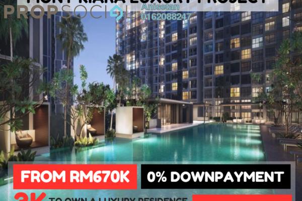 Condominium For Sale in Inspirasi Mont'Kiara, Mont Kiara Freehold Unfurnished 3R/2B 660k