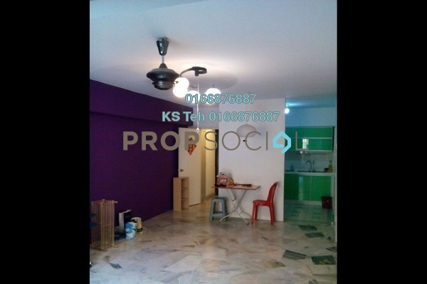 Apartment For Rent in Winner Heights, Desa Petaling Freehold Semi Furnished 3R/2B 1k