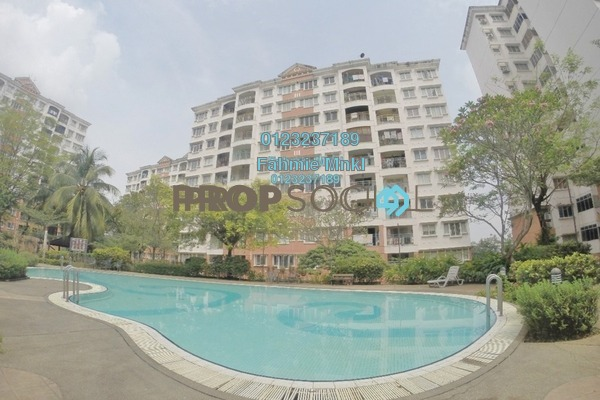 Apartment For Sale in Kenanga Apartment, Pusat Bandar Puchong Freehold Semi Furnished 3R/2B 380k