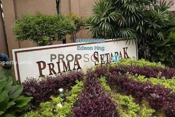 For Sale Condominium at Prima Setapak I, Setapak Freehold Semi Furnished 3R/2B 425k