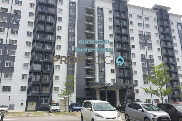 Apartment For Rent in Seri Intan Apartment, Setia Alam Freehold Unfurnished 3R/2B 950translationmissing:en.pricing.unit