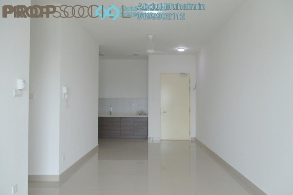 Serviced Residence For Rent in Mercury Serviced Apartment @ Sentul Village, Sentul Freehold Semi Furnished 3R/2B 1.5k