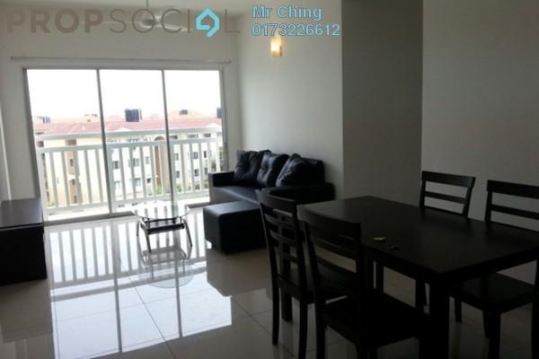 Condominium For Rent in Hijauan Kiara, Mont Kiara Freehold Semi Furnished 3R/2B 1.3k