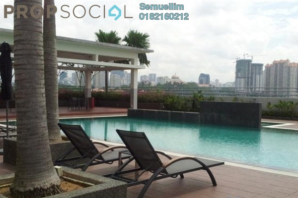 Condominium For Rent in Viva Residency, Sentul Freehold Semi Furnished 3R/2B 1.6k