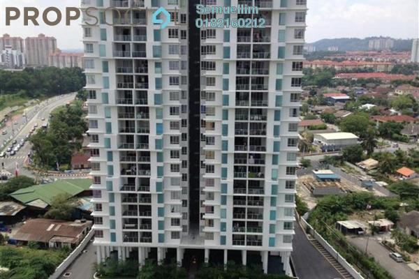 Condominium For Rent in Zen Residence, Puchong Freehold Semi Furnished 4R/2B 1.5k