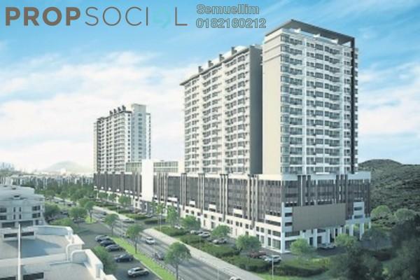 Condominium For Rent in Damai Hillpark, Bandar Damai Perdana Freehold Semi Furnished 3R/2B 1.3k