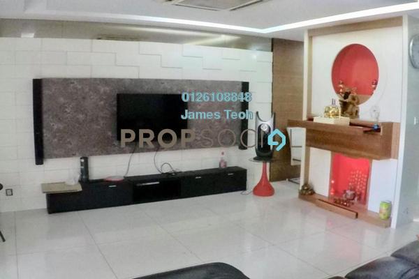Terrace For Sale in Nafiri, Bandar Bukit Raja Freehold Semi Furnished 3R/2B 568k