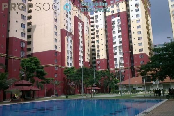 Condominium For Rent in Mentari Court 1, Bandar Sunway Freehold Semi Furnished 3R/2B 1.2k