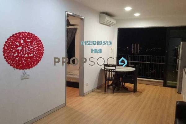 Condominium For Rent in Epic Residence, Bandar Bukit Puchong Freehold Fully Furnished 1R/2B 1.5k