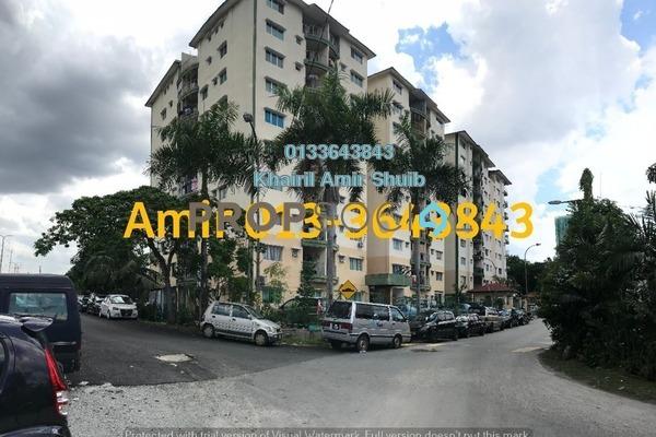 Apartment For Sale in Taman Nirwana, Ampang Freehold Semi Furnished 2R/2B 350k