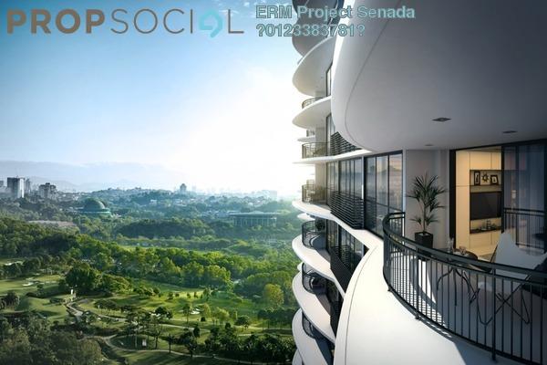 Serviced Residence For Sale in Senada Residences @ KLGCC Resort, Damansara Heights Freehold Unfurnished 1R/1B 979k