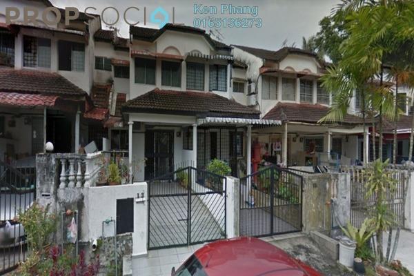 Terrace For Rent in Taman Cheras Awana, Cheras Freehold Semi Furnished 3R/2B 1.2k