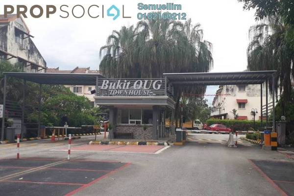 Condominium For Rent in Bukit OUG Townhouse, Bukit Jalil Freehold Fully Furnished 3R/2B 1.35k