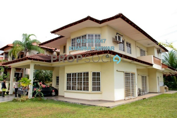 Bungalow For Sale in Section 8, Shah Alam Freehold Semi Furnished 5R/4B 1.6m