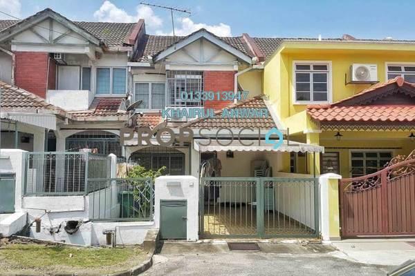 Terrace For Sale in Taman Wangsa Melawati, Wangsa Maju Freehold Semi Furnished 4R/3B 725k