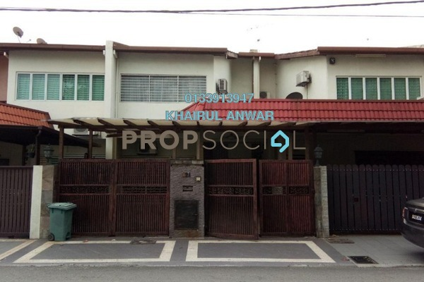 Terrace For Sale in Ampang Prima, Ampang Freehold Semi Furnished 5R/4B 790k