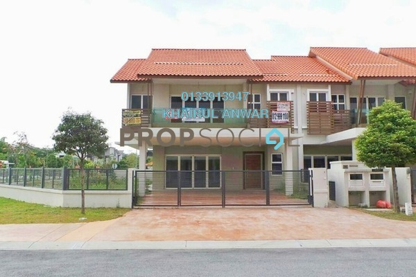 Terrace For Sale in Temasya Citra, Temasya Glenmarie Freehold Unfurnished 8R/7B 3.85m