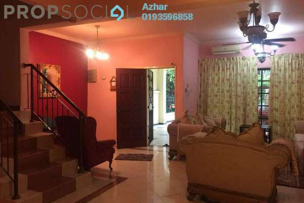 Terrace For Rent in SD10, Bandar Sri Damansara Freehold Semi Furnished 4R/3B 2.5k
