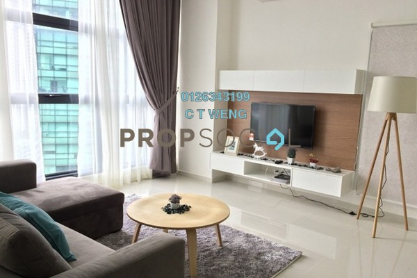 Condominium For Rent in Mirage Residence, KLCC Freehold Fully Furnished 3R/4B 5.7k