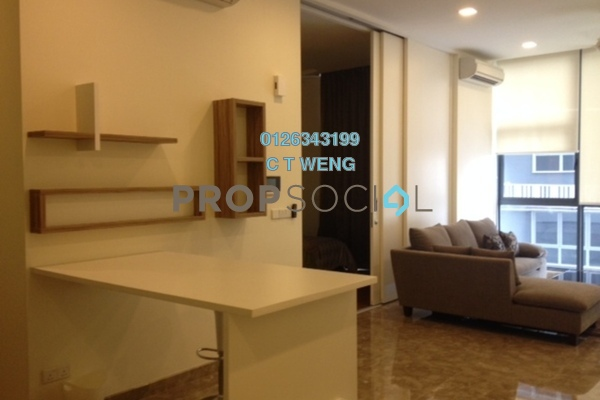 Condominium For Sale in Laman Ceylon, Bukit Ceylon Freehold Fully Furnished 1R/1B 910k