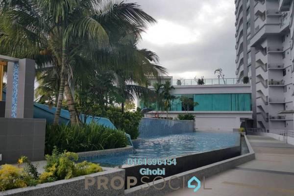 Condominium For Rent in Island Resort, Batu Ferringhi Freehold Fully Furnished 3R/2B 3k