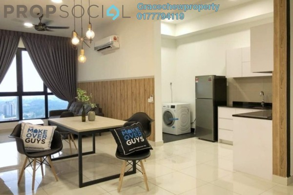 Serviced Residence For Rent in Eco Business Park I, Johor Bahru Freehold Fully Furnished 2R/2B 2.5k