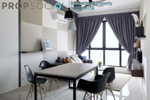 Serviced Residence For Rent in Eco Business Park I, Johor Bahru Freehold Fully Furnished 2R/1B 1.98k