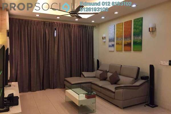 Condominium For Rent in Surian Condominiums, Mutiara Damansara Freehold Fully Furnished 3R/2B 2.7k