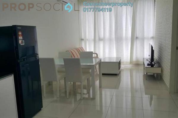 Serviced Residence For Rent in Eco Business Park I, Johor Bahru Freehold Fully Furnished 2R/1B 2.28k