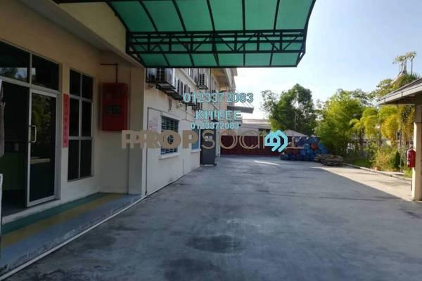 Factory For Sale in Taman Sungai Kapar Indah, Kapar Freehold Semi Furnished 0R/2B 4.3m