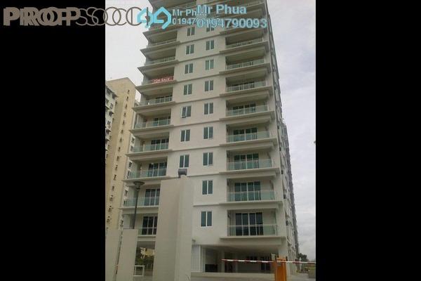 Apartment For Rent in The Uban Residence, Batu Uban Freehold Semi Furnished 4R/3B 2.2k