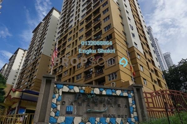 Apartment For Sale in Pelangi Damansara Sentral, Mutiara Damansara Freehold Unfurnished 3R/2B 305k