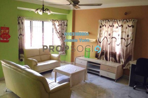 Condominium For Rent in Perdana Puri, Kepong Freehold Fully Furnished 3R/2B 1.2k