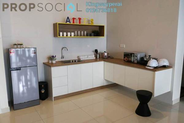 Condominium For Rent in Arte S, Bukit Gambier Freehold Semi Furnished 2R/2B 1.3k