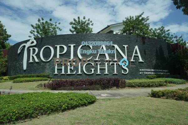 Terrace For Rent in Parkfield Residences @ Tropicana Heights, Kajang Freehold Unfurnished 3R/4B 1.65k