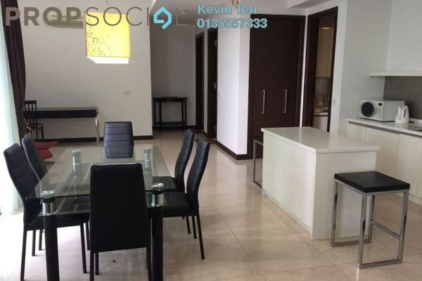 Condominium For Sale in Hampshire Residences, KLCC Freehold Semi Furnished 3R/3B 2m