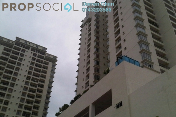 Condominium For Rent in Ampang Putra Residency, Ampang Freehold Semi Furnished 3R/2B 1.6k