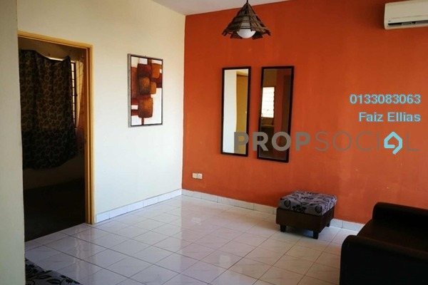 Apartment For Rent in Intana Ria, Kajang Freehold Semi Furnished 3R/2B 1.1k