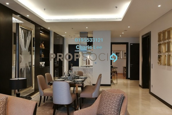 Serviced Residence For Sale in The Ritz-Carlton Residences, KLCC Freehold Semi Furnished 1R/1B 3.21m