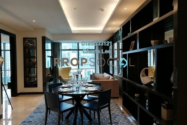 Serviced Residence For Sale in The Ritz-Carlton Residences, KLCC Freehold Semi Furnished 1R/1B 2.58m