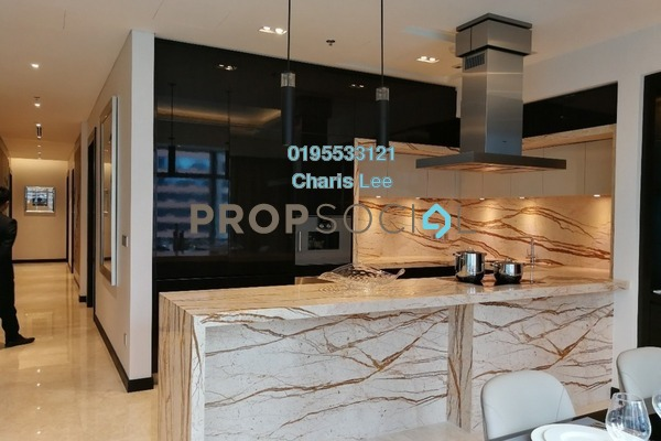 Serviced Residence For Sale in The Ritz-Carlton Residences, KLCC Freehold Semi Furnished 3R/3B 4.84m