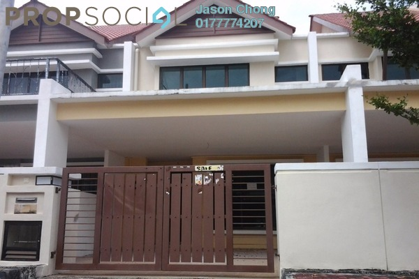 Terrace For Rent in Palmyra Residences, Balik Pulau Freehold Unfurnished 4R/2B 1k
