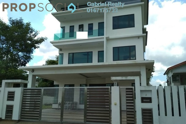 Bungalow For Sale in Section 1, Bandar Mahkota Cheras Freehold Semi Furnished 8R/9B 3.2m