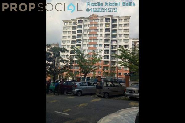 Apartment For Sale in Kenanga Apartment, Pusat Bandar Puchong Freehold Unfurnished 3R/2B 340k
